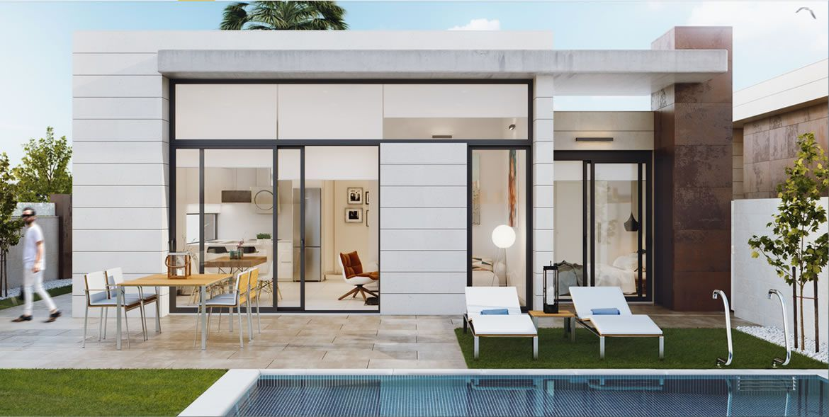 Ultra-modern design villas