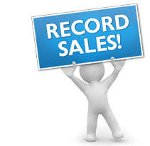 Record Sales in 2018
