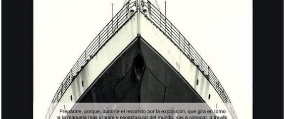 Titanic Exhibition comes to Alicante